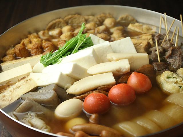 西中島南方の鶏鍋あんここのおでん写真